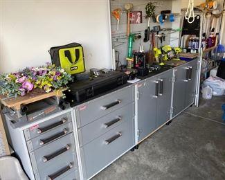 Coleman cabinets 5 piece unit