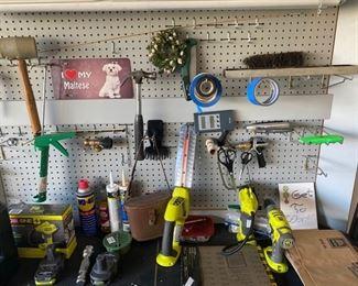 Tools, tools, tools!