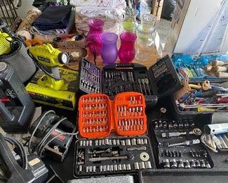 Several tool sets