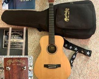 Little Martin guitar excellent condition