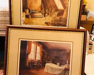 Interior Kollock prints
