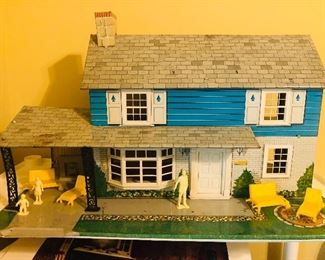 Exterior of doll house