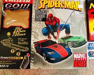Carrera Spider-Man racecar set