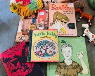Vintage books and toys!