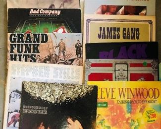 Vinyl from the 60's to the late 70's