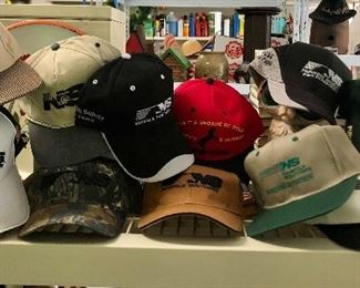 Great collection of Norfolk Southern caps!