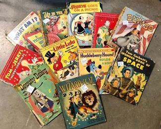 Great assortment of vintage Golden Books!