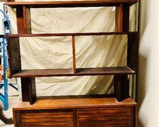 Mid century modern book shelf/ room divider