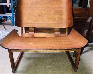 Very Cool midcentury modern chair all teak