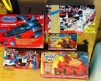 Captain Power Phantom Striker;Trans Formers City Commander Ultra Magnus; Trans Formers Autobot Battle Station Metroplex; Legions of Power Tech Dynasty Planetary Control Vehicles featuring LtJondice and Tech Dynasty Power Masters featuring Commander Wartech