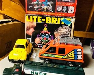 Moto Van,  Hess truck, and more
