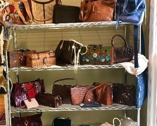 GREAT collection of vintage and name brand purses!