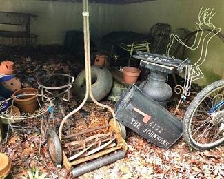 Treasures under the porch!