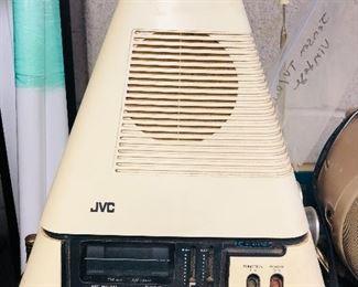 1970's JVC 3100D TV/Radio!  Neato!!