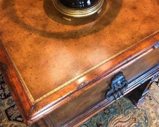 Top of Theodore Alexander end table