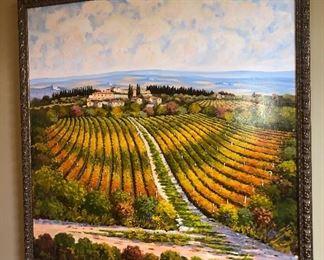 Large Tuscan painting