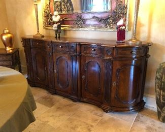 Gorgeous walnut sideboard/buffet (Madden&McFarland)