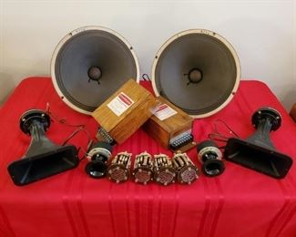 Goodmans speakers, all working!