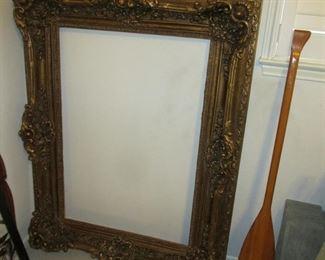 Huge 38 x 51 Gold Frame