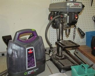 Central Machinery 5 Speed Bench Drill Press
