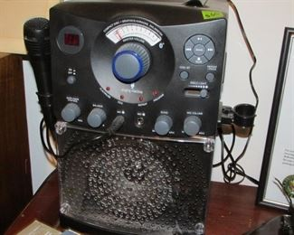 Karaoke Machine. Tested Sounds Great