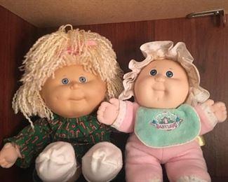 Vintage Cabbage Patch Dolls