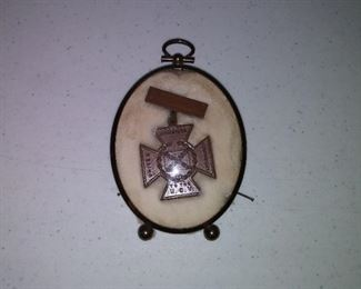 UCV United Daughters Of The Confederacy medal of honor.