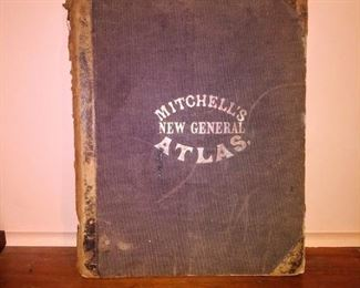 1863 Mitchell's General Atlas-complete
