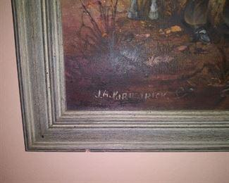 Listed Dakota artist J. A. Kirkpatrick