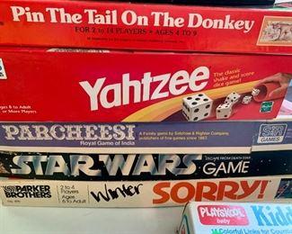 Lots of vintage games