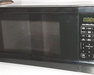New Hamilton Beach microwave