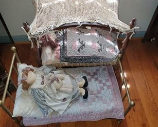 metal doll beds