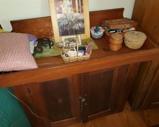 old dry sink