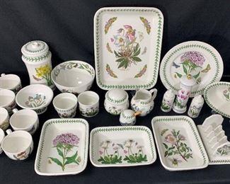 Portmeirion Botanic Garden Porcelain Cups, Bowls & More
