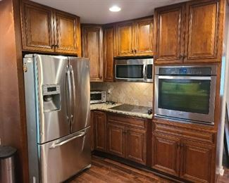 All appliances and cabinets in kitchen for sale!!