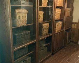 4 Piece Wooden Cabinet
