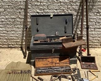 Antique Tools and Chest