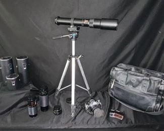 Canon Camera and Lenses