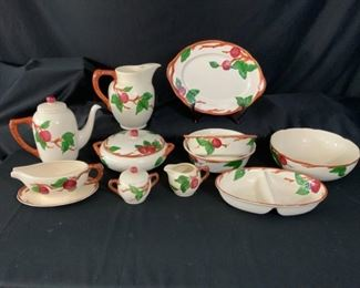 Franciscan Apple Dinnerware Serving Collection