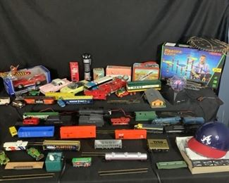 Trains and Model Cars