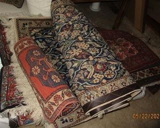 a few of the rugs