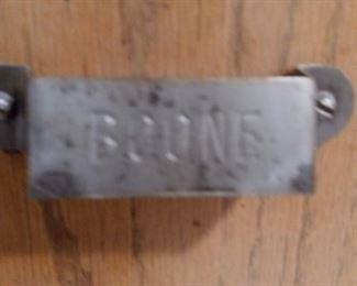 Boone mark from Hoosier Cabinet