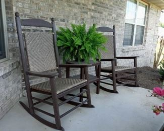 Front Porch Rockers and Table