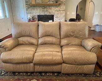 Lane Leather Sofa