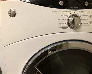GE Front Load  Dryer on Pedestal
