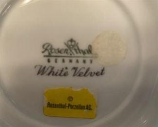 White Velvet by Rosenthal