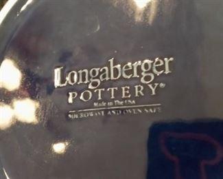 Longaberger Covered Pottery Mark
