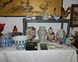 Asian decor..some older, some not