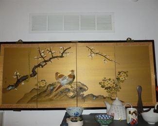 Asian wall decor