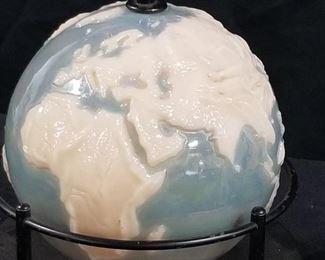 Rare  Aladdin Alacite Globe Lamp
